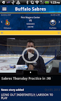 Screenshot of Buffalo Sabres Official App