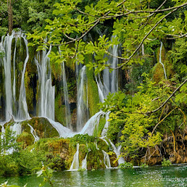 Plitvice by Radu Eftimie - Landscapes Waterscapes ( plitvice, waterfall, croatia )