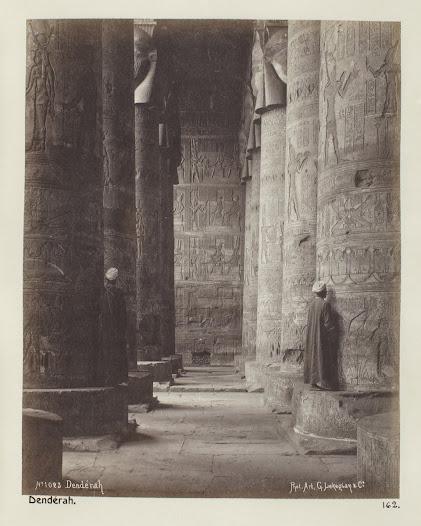 Tempel i Dendera.