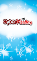 Screenshot of TGI Cyber Monday
