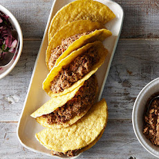 Easy Lentil Walnut Tacos with Cabbage Lime Slaw