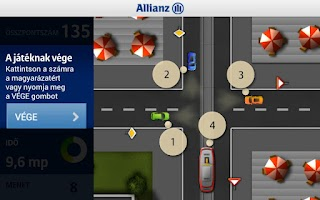 Screenshot of Allianz X-játszma