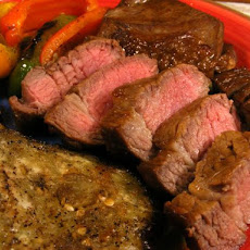 Bourbon Beef Grill or Broil