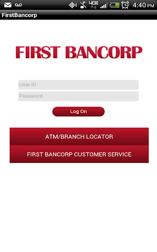 FirstBancorp mobile Banking