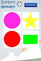 Screenshot of Renkleri öğrenelim (Türkçe)