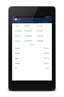 Screenshot of Money Expense Manager