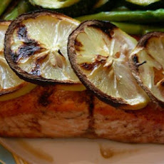 Pan Seared Lemon-Soy Salmon