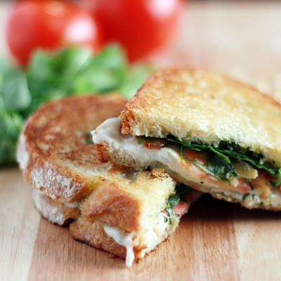 Italian Grilled Cheese Sandwich