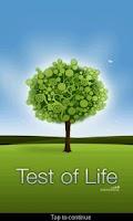 Screenshot of Test of Life