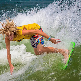 by Lawayne Kimbro - Sports & Fitness Surfing ( skim boarding, pro skim, ©kimbrophoto, skim board, ©kimbro photography, ocean, travel, beach, people, skim, skimming, ©lawayne kimbro photography, surfing, obx, skim jam, lifestyle, skimusa, culture, competition,  )