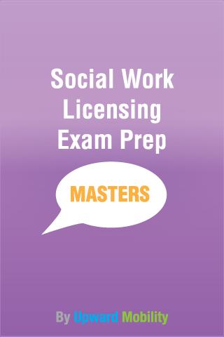 Social Work Master's Exam Prep