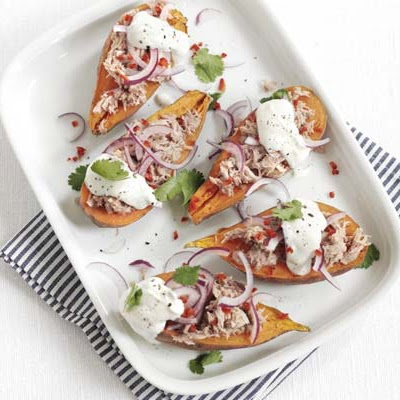 Tuna Sweet Potato Jackets