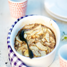 Apple And Hazelnut Clafoutis