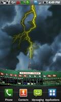 Screenshot of Lightning Live Wallpaper