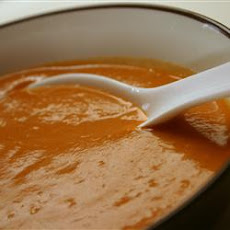 Creamy Turnip With Paprika Soup