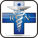 RN Cross doo-dad blue icon