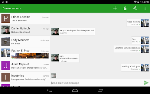 Conversations (Jabber / XMPP)- screenshot thumbnail