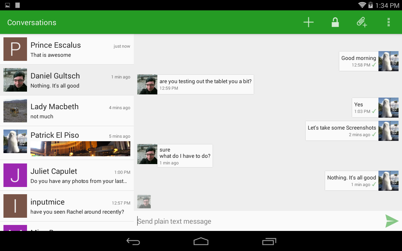 Conversations (Jabber / XMPP) Screenshot 7