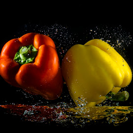 Up Side Down by Imanuel Hendi Hendom - Food & Drink Fruits & Vegetables