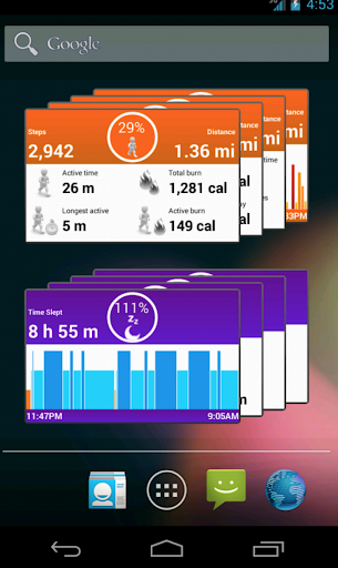 UPIt Pro for Jawbone UP System - screenshot