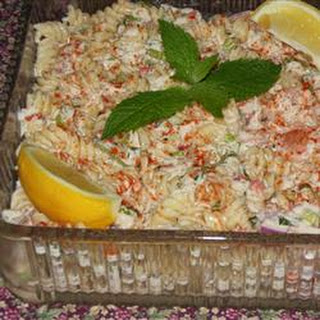 Shrimp and Crab Macaroni Salad