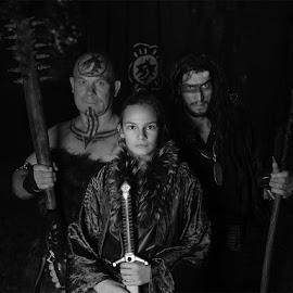 Promo shot by Mike Mashihin - People Group/Corporate ( warrior, fantasy, princess, mace, daemon, sword )
