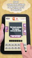 Screenshot of Bible Trivia Quiz Game