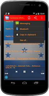 Honduras MUSIC Radio - screenshot