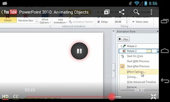 Screenshot of GCF PowerPoint 2010 Tutorial