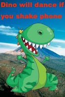 Screenshot of Talking Dinosaur