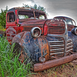 Dodge Salvage by Ron Meyers - Transportation Automobiles