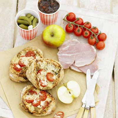 Ploughman's Cheese & Tomato Pockets