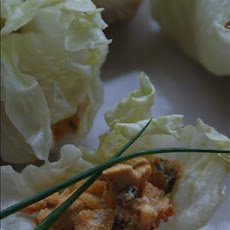 Yogurt Chicken Lettuce Wraps