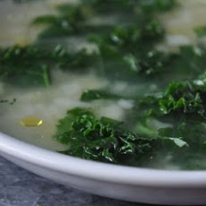 Colleen's Garlic and Greens Soup