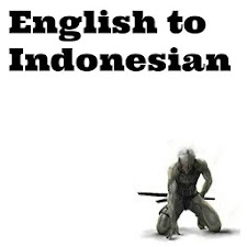 English to Indonesian