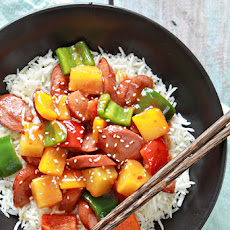 Sweet and Sour Sausage