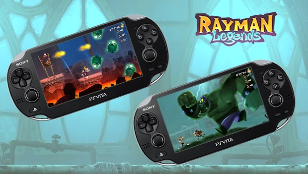 PS Vita patch adds Invasion mode to Rayman Legends