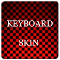 Red Carbon Keyboard Skin icon