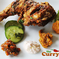 Spicy Indian Fried Chicken