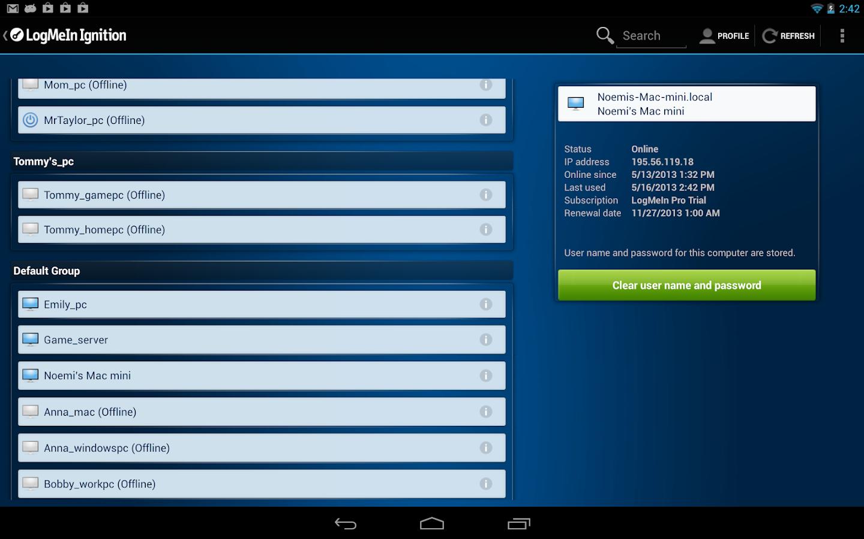logmein ignition для android бесплатно