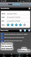 Screenshot of LiveTrekker