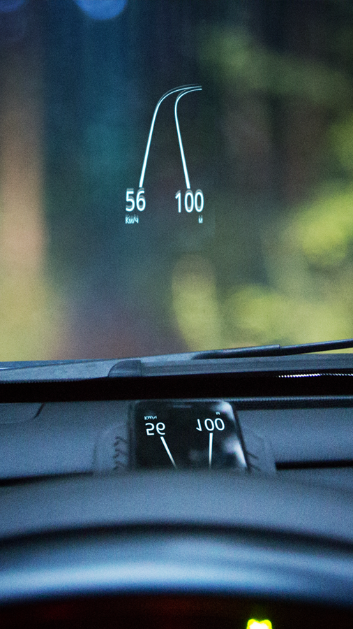 HUDWAY — GPS Navigation HUD Screenshot
