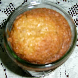 Caramel Nut Cake in a Jar