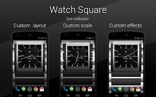 Screenshot of Watch Square PRO