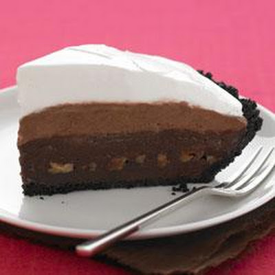 Triple-Layer Mud Pie