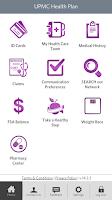 Screenshot of UPMC Health