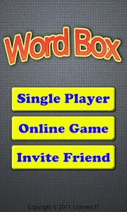Word Box - screenshot