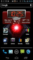 Screenshot of Motorola RAZR Boot Wallpaper