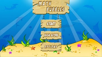 Screenshot of Math Bubbles