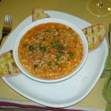 Vegetable-Bean Soup with Spelt